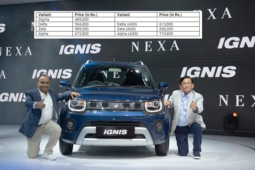 Prices of the Maruti Suzuki Ignis range between Rs 4.9 lakh and Rs 7.2 lakh ex-showroom.