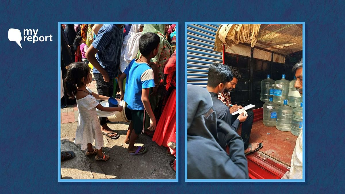 Residents of Jogeshwari East in Mumbai's western line are facing an acute water crisis since 29 January.