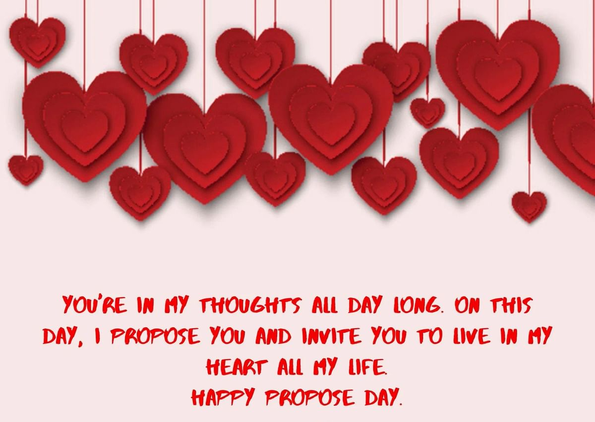 Propose Day Wishes in English