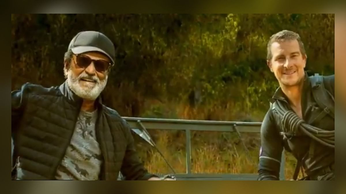 Rajinikanth in 'Into the Wild With Bear Grylls' Motion Poster