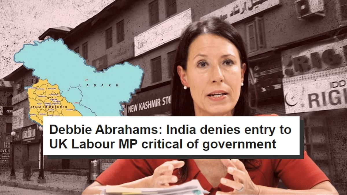 UK MP Debbie Abrahams.