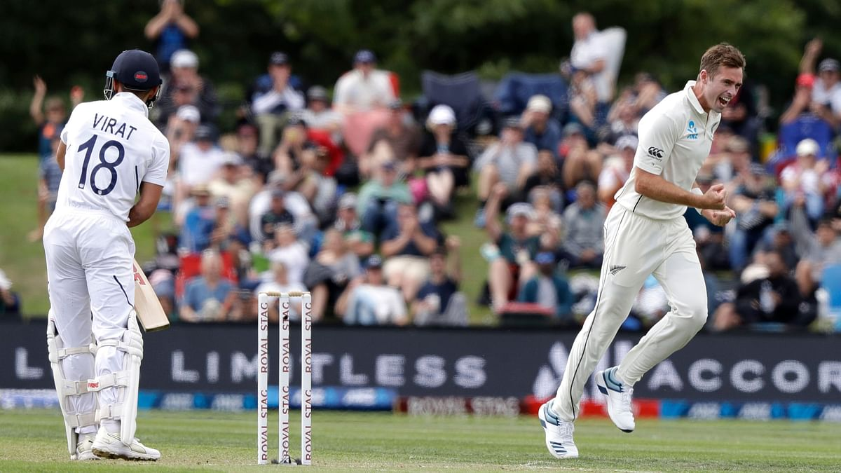 Kohli's Misery Continues, Falls to Southee For Record 10th Time
