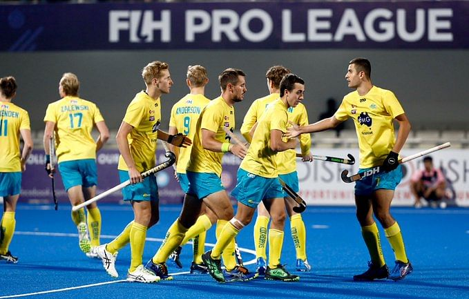 India lost 3-4 to Australia in the first game on Friday.