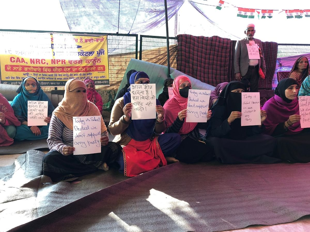 Nearly 40 women were present at the site by 10 am.