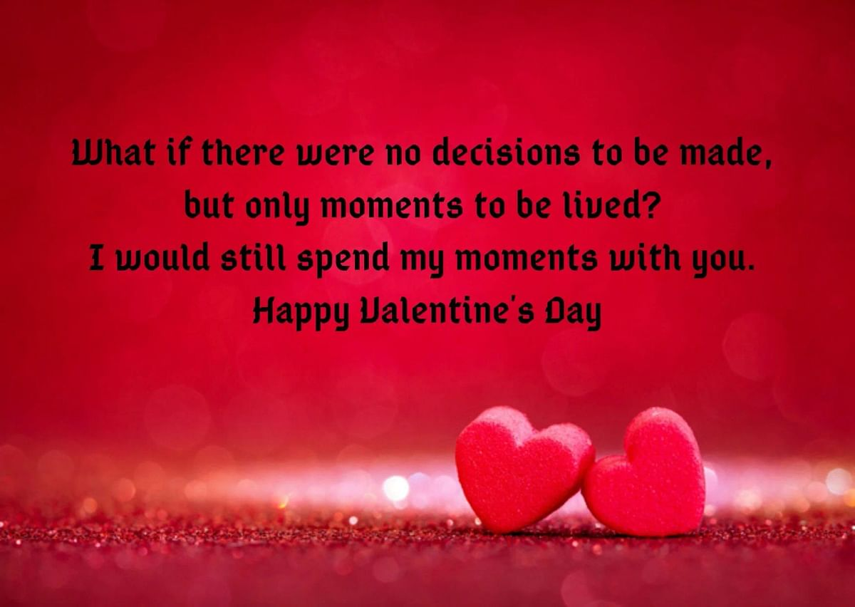 Valentine's Day Wishes in English