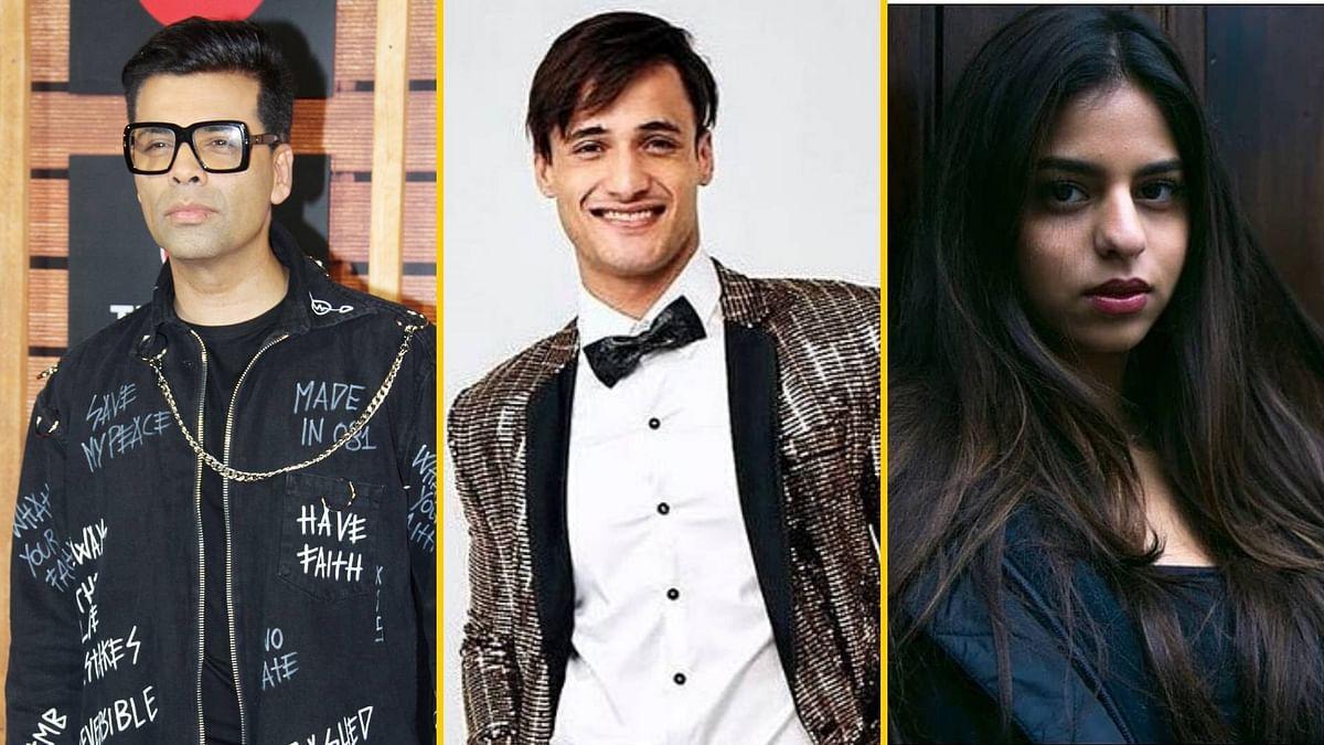 KJo Shuts Down Rumours of Launching Asim Riaz, Suhana in 'SOTY 3'
