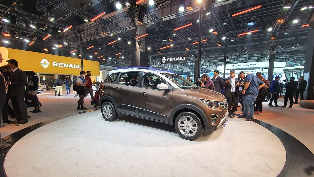 Auto Expo 2020: Renault Triber AMT BS-VI Variant Unveiled