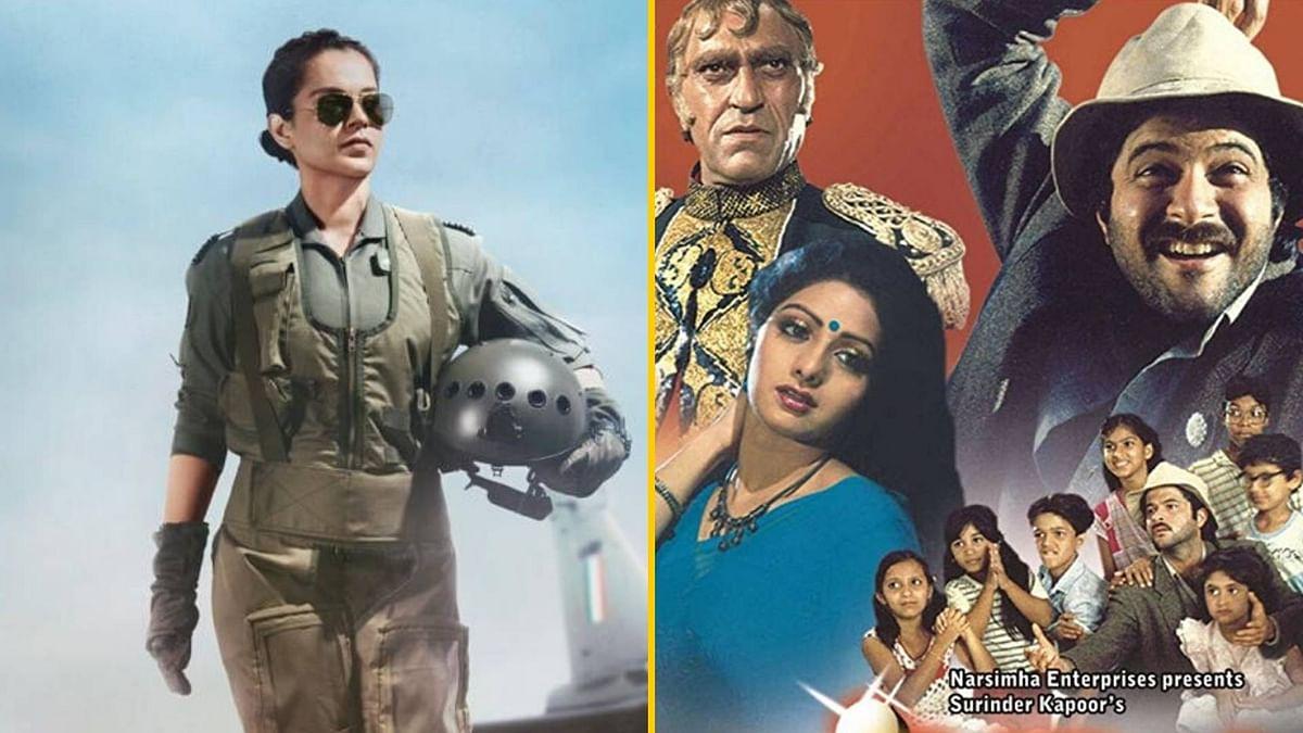 Kangana Ranaut as an IAF pilot in <i>Tejas</i>; Ali Abbas Zafar will direct a trilogy based on 1987's <i>Mr India.</i>