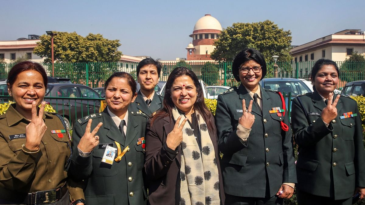 Permanent Commission to Women: SC Gives Govt 1 Month to Comply