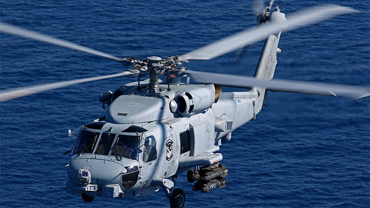 Govt Approves Naval Helicopter Deal With US Ahead of Trump Visit