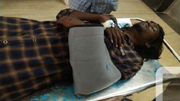 Member of Student Federation of India attacked in Thiruvananthapuram.