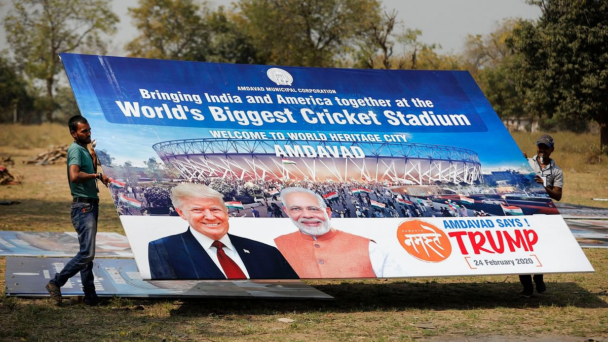 Not 70 Lakh, But One Lakh to Attend Trump Roadshow