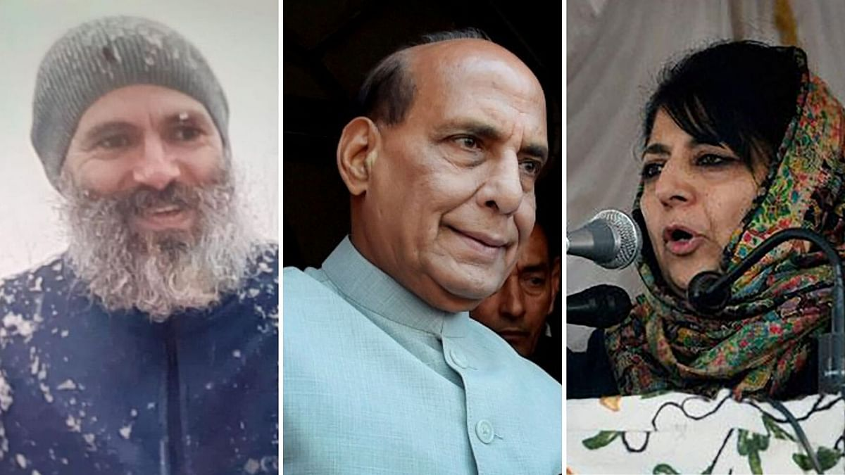 Pray for Early Release of Abdullahs, Mufti From Detention: Rajnath