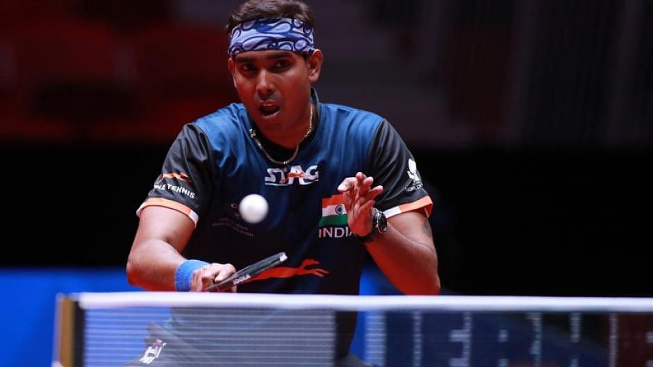 Sharath Kamal First Indian Paddler to Qualify for Tokyo Olympics