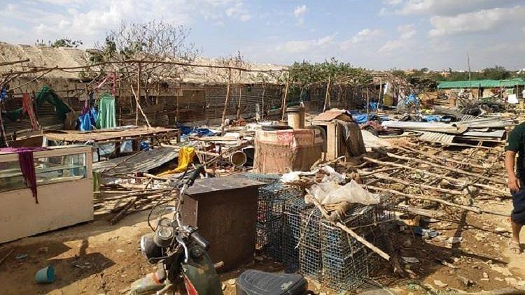 Rehabilitate Destroyed Huts in 'Anti-Bangladeshi' Drive: K'Taka HC