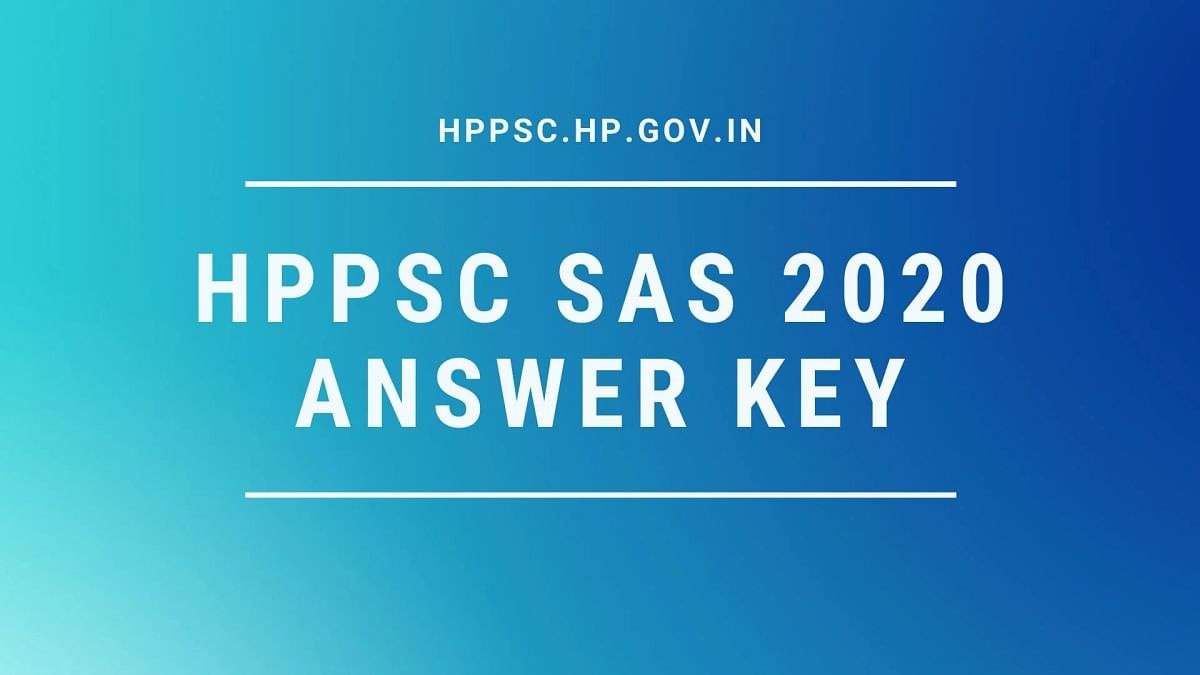 HPPSC Subordinate Allied Services 2020 Answer Sheet Released