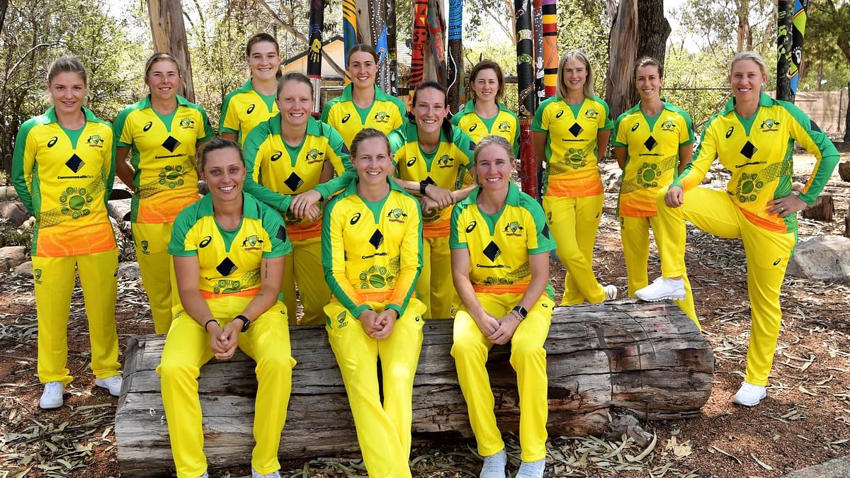 The Australia cricket team ahead of the T20 World Cup