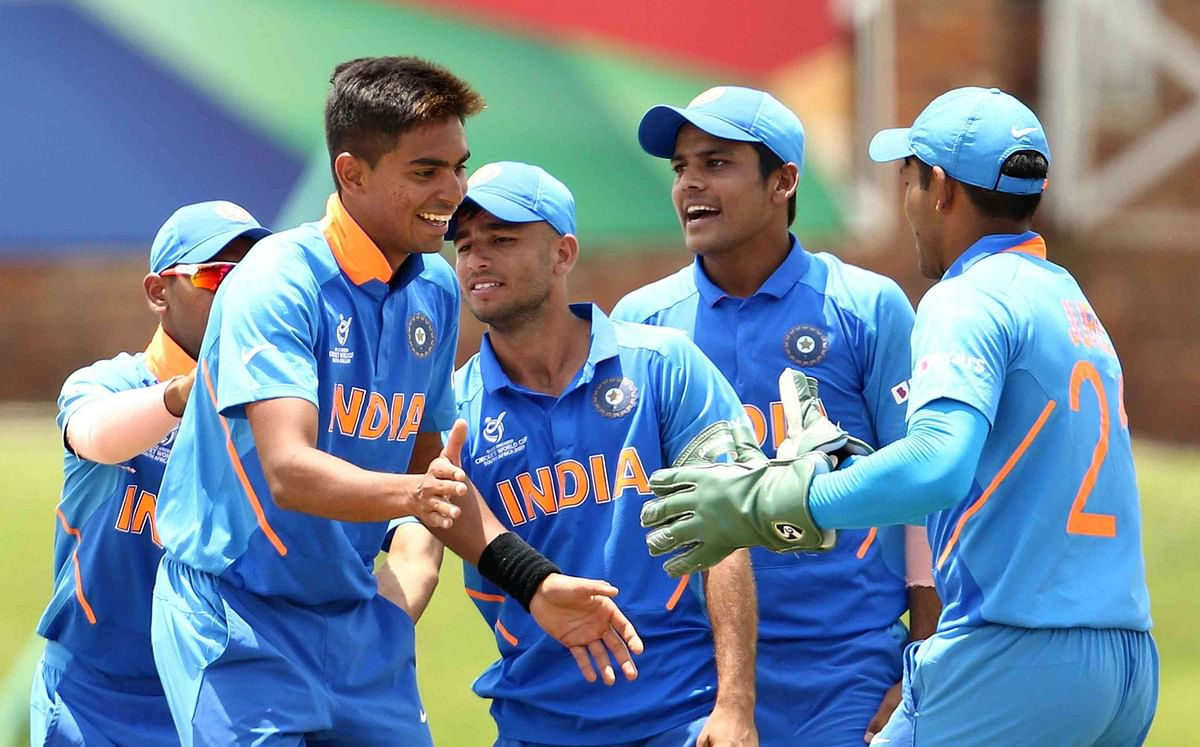 The Indian under-19 side will be vying to clinch the World Cup for a second consecutive time.
