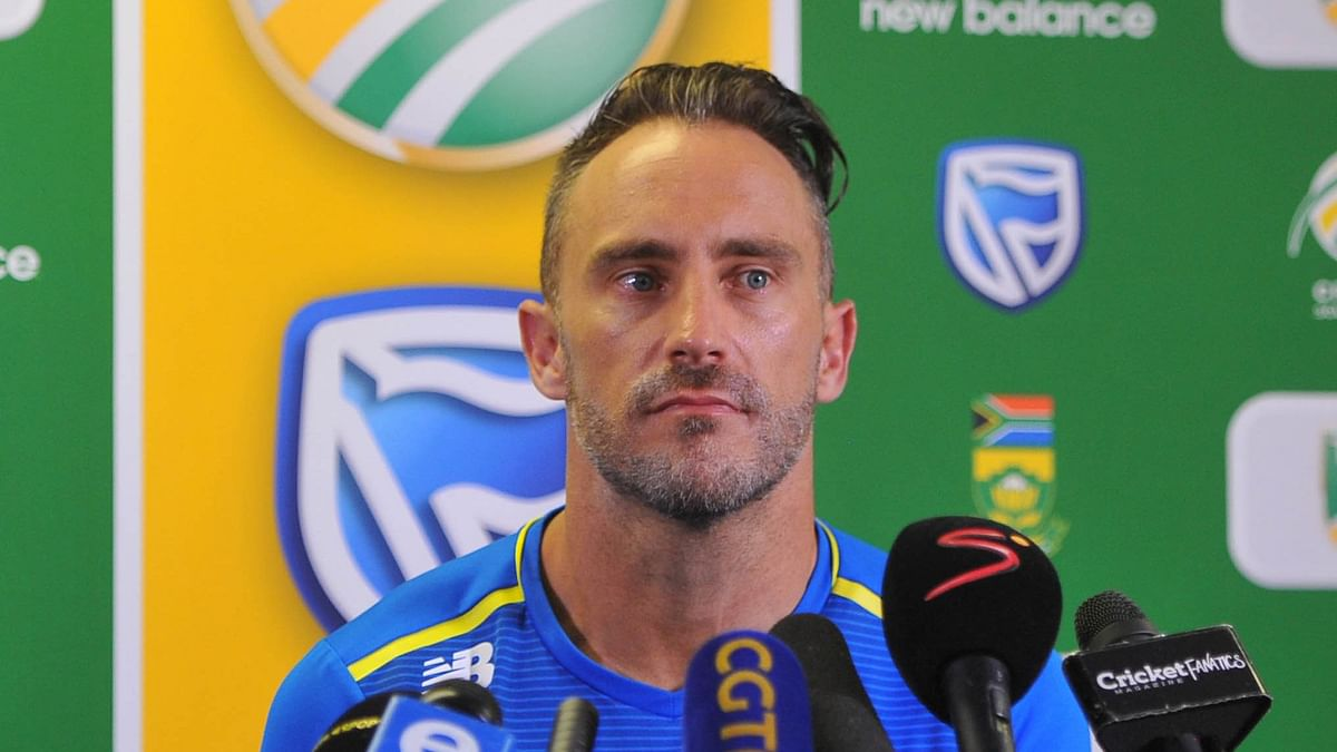 Faf Du Plessis Steps Down as South Africa's ODI and T20I Captain
