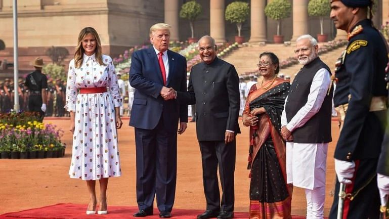Is 'white' the colour of India visit for Melania Trump?