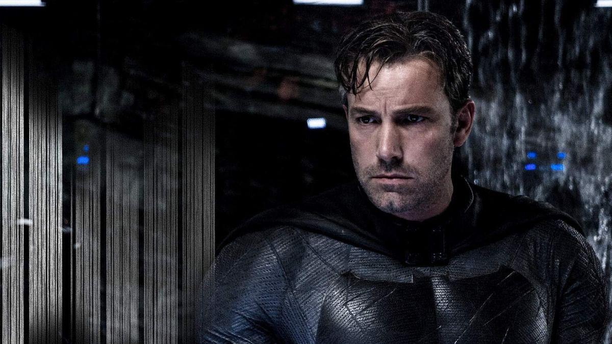 Ben Affleck in <i>Batman Vs Superman</i>.