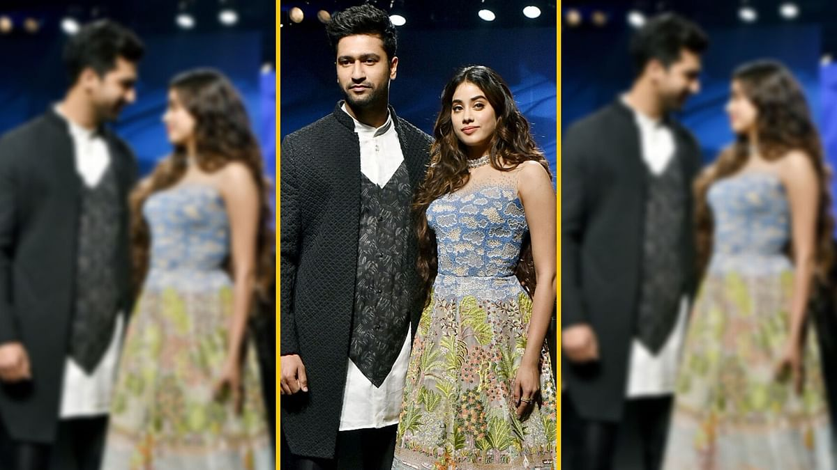 In Pics: Vicky and Janhvi Walk the Ramp at Lakme Fashion Week 2020