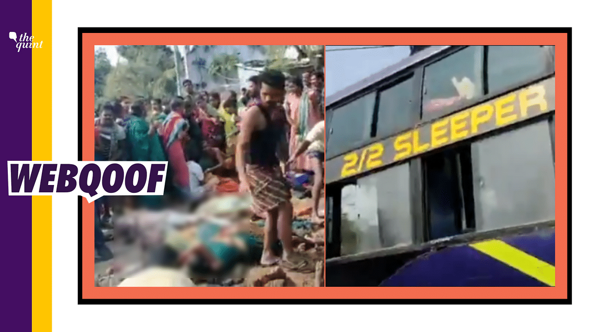 Odisha's Bus Fire Incident Used to Claim People Killed in Kanpur