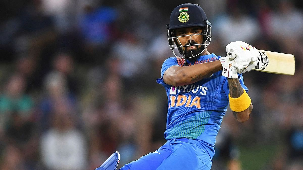 KL Rahul played a brilliant knock of unbeaten 88 that helped India post a formidable 348-run target for the Kiwis.