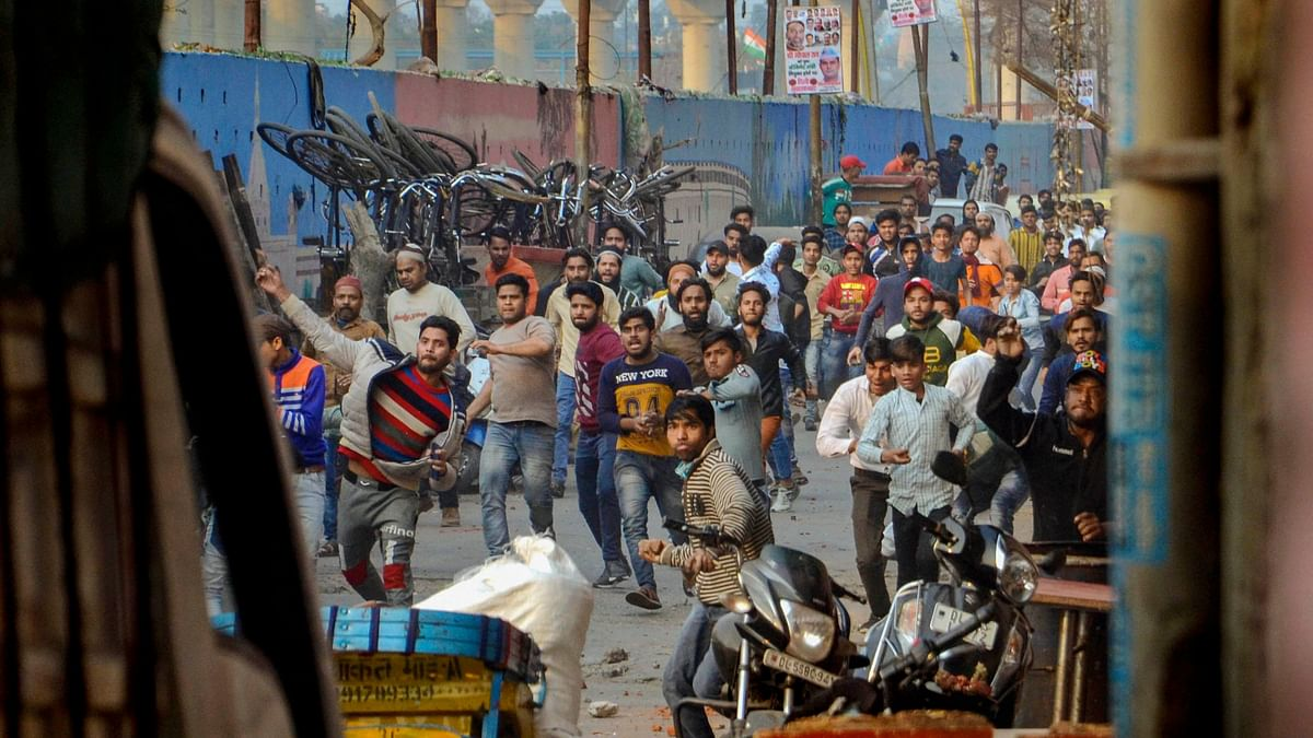 Another Clash Between Pro- And Anti-CAA Groups in Delhi's Maujpur