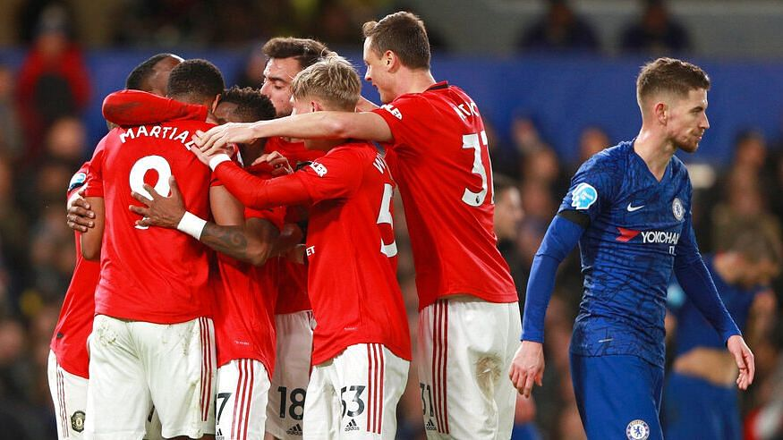 With the win, Manchester United climbed to seventh place — three points behind Chelsea who stay fourth.