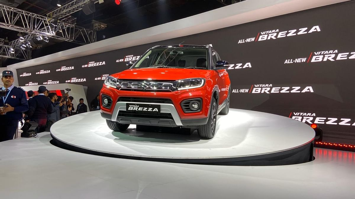 Maruti Suzuki Brezza BS6 Petrol Launched at Rs 7.34 Lakh Onwards