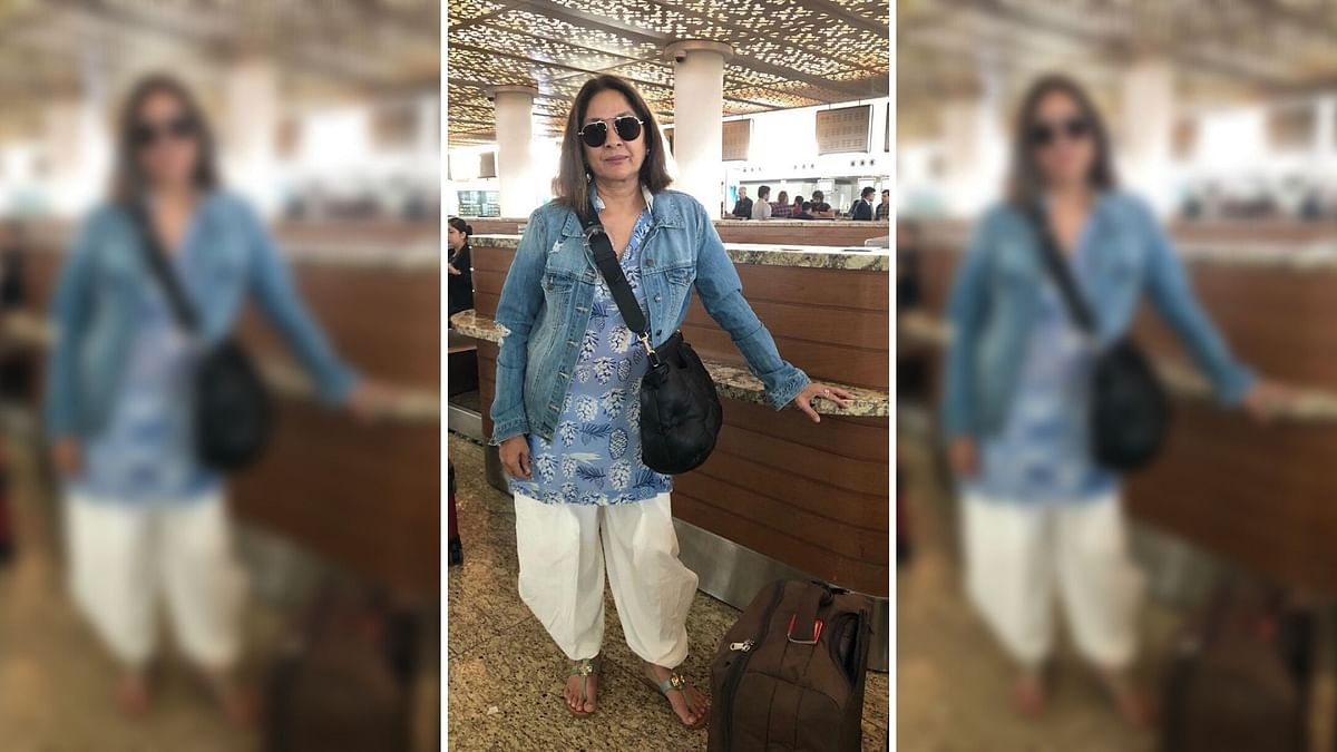 Neena Gupta Has the Best Reaction to Her ID Being Checked Thrice