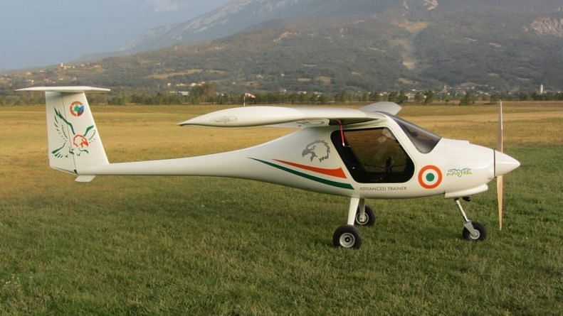 A Pipistrel Virus SW 80 trainer aircraft crashed soon after taking off from the Patiala Aviation Club airport.