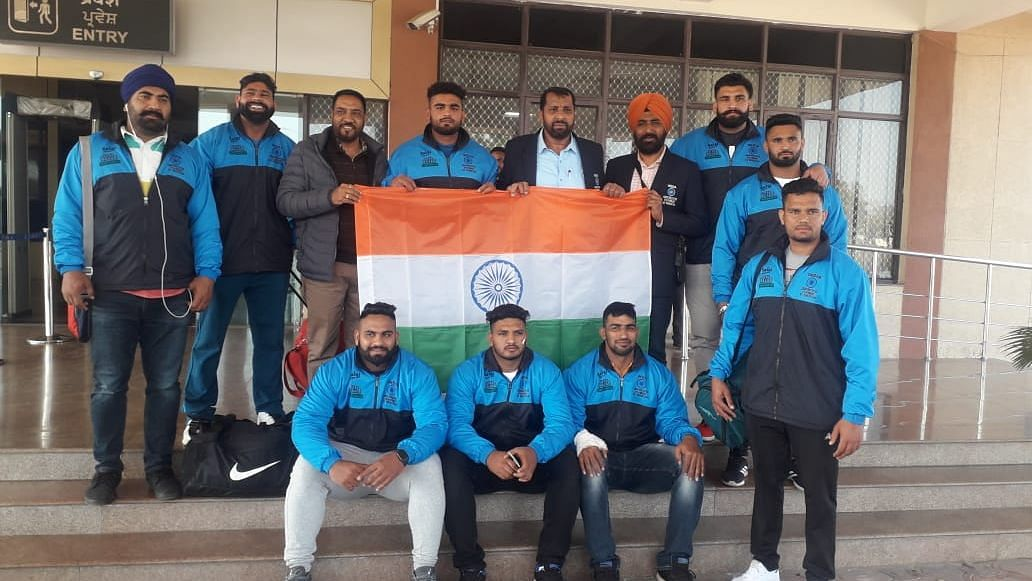 An 'Indian team' has reached Pakistan to participate in the Kabaddi World Cup but it is not recognised by any Federation.