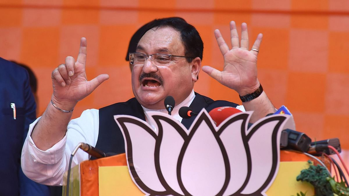 File image of Bharatiya Janata Party (BJP) National President JP Nadda.