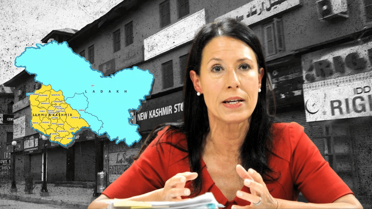 UK MP Debbie Abrahams has questioned whether she was deported from India because she has been critical of the Indian government on the situation in Kashmir.