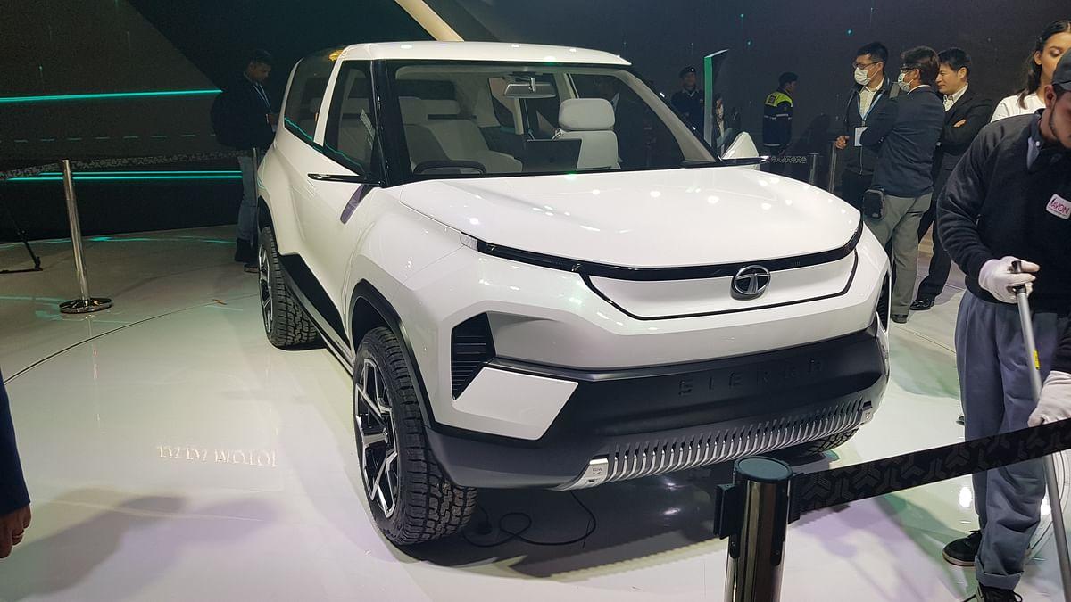 The Tata Sierra SUV re-imagined.