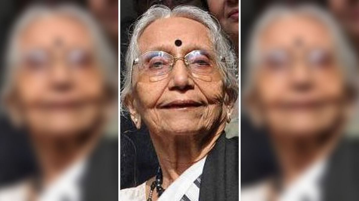 Academician and Former TMC MP Krishna Bose Dies at 89