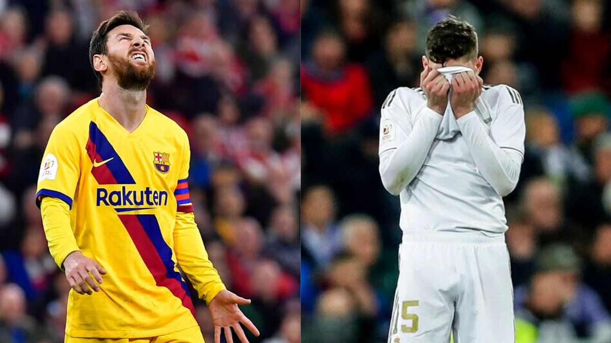 It's the first time in a decade that neither Real Madrid nor Barcelona made it to the last four in the Copa del Rey.