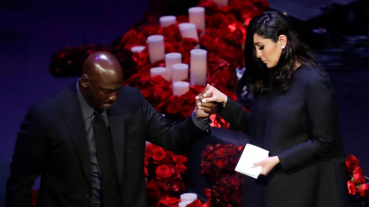 Watch: Michael Jordan Pays Tribute to 'Little Brother' Kobe