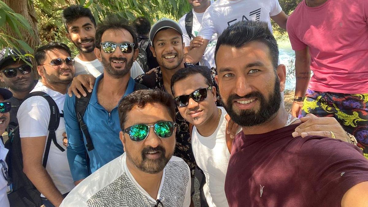 Ahead of NZ Tests, Team India Visits Blue Springs in Putaruru
