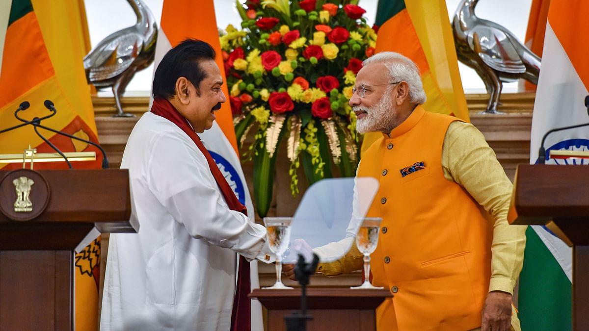 PM Modi Meets Rajapaksa, Discusses Sri Lankan Tamil Issue