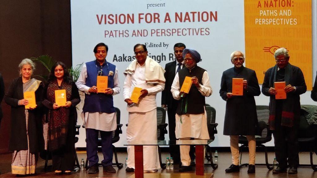 Chidambaram, Tharoor & Yechury 'Reimagine' India at Book Launch