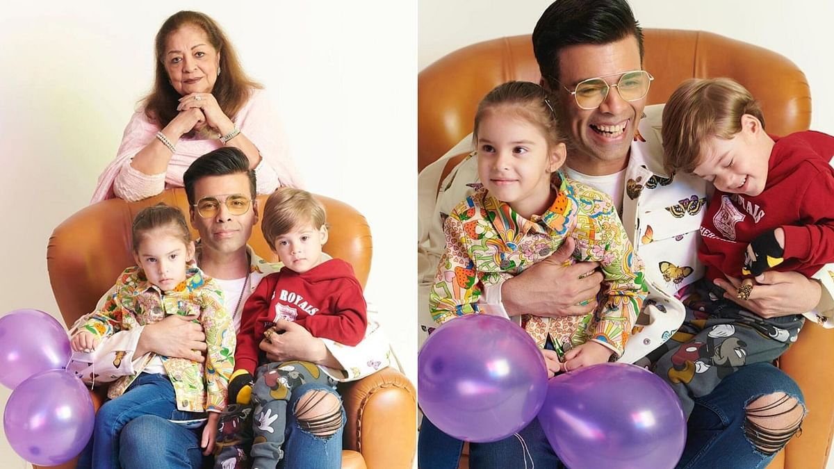 Thank the Universe for Completing Us: KJo on His Twins' Birthday