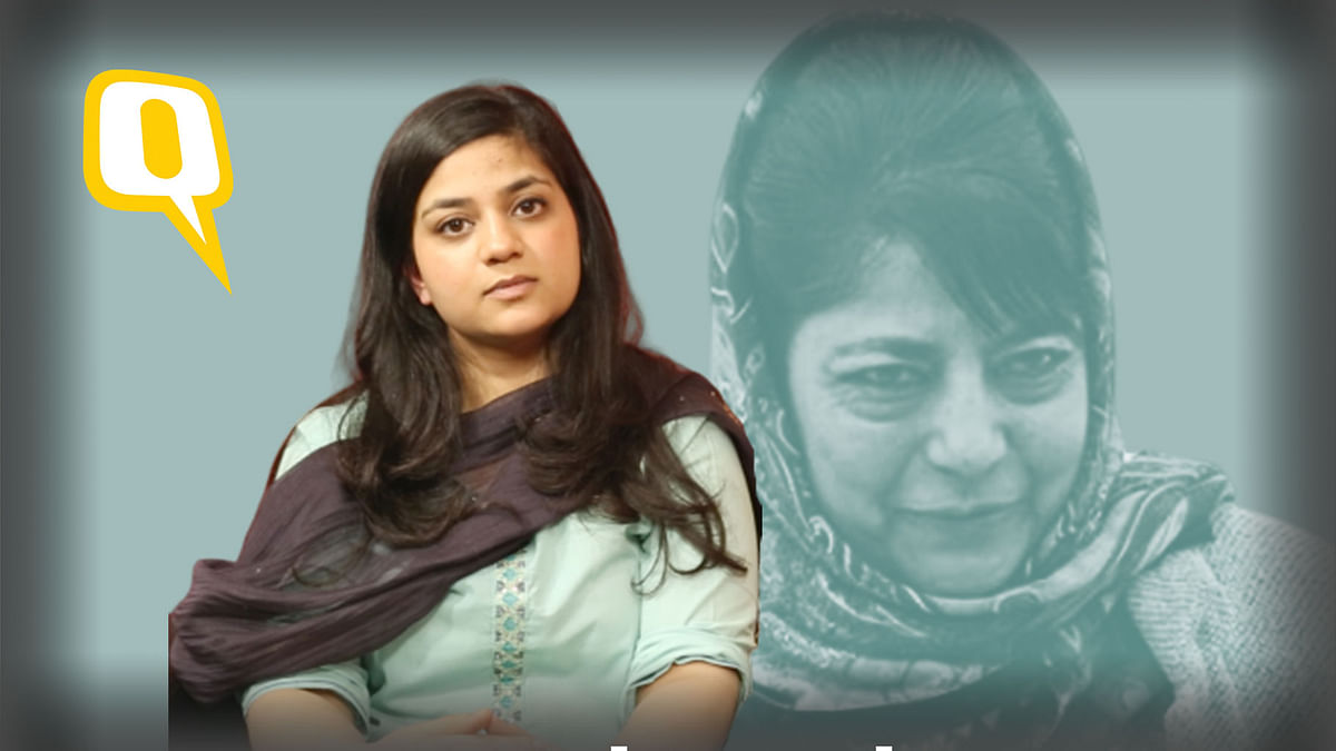 Political Witch Hunt: Mehbooba Mufti's Daughter Slams PSA Dossier