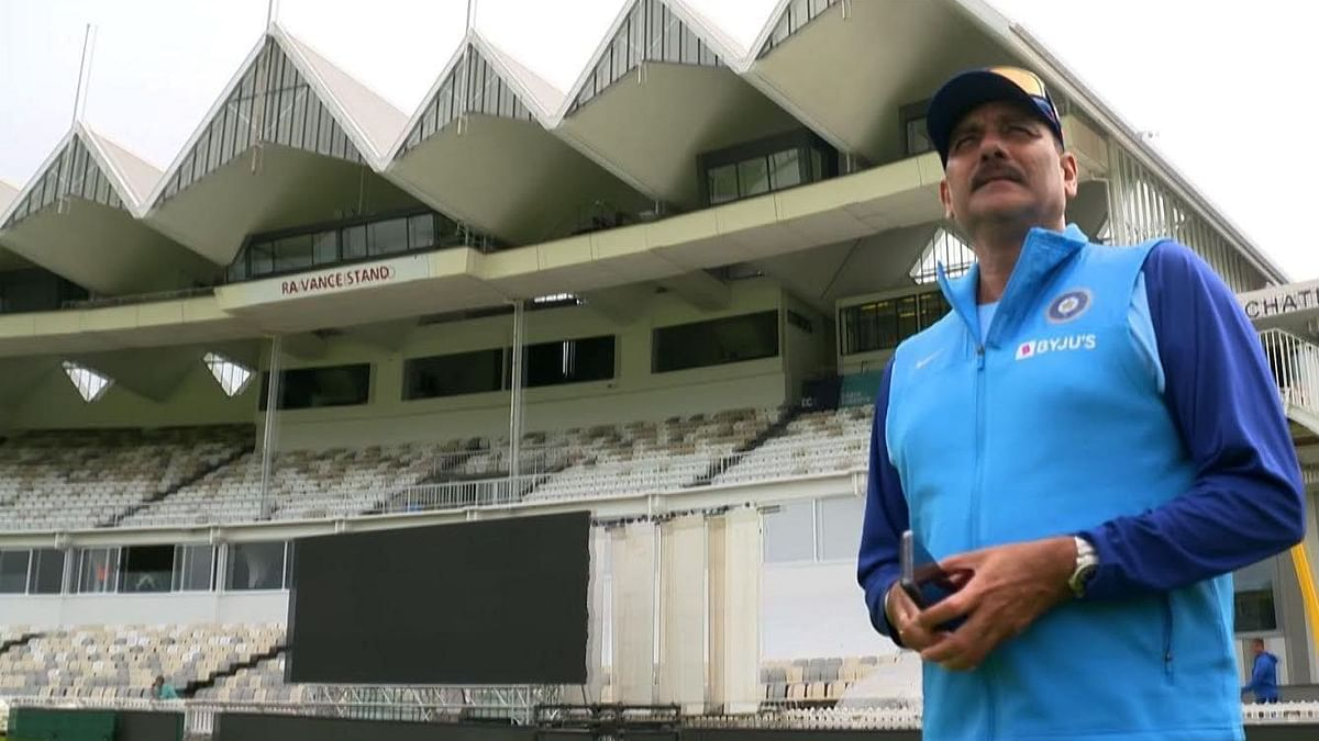 Ravi Shastri's debut match at Basin Reserve, Wellington, was also the only one he played at the ground in his career.