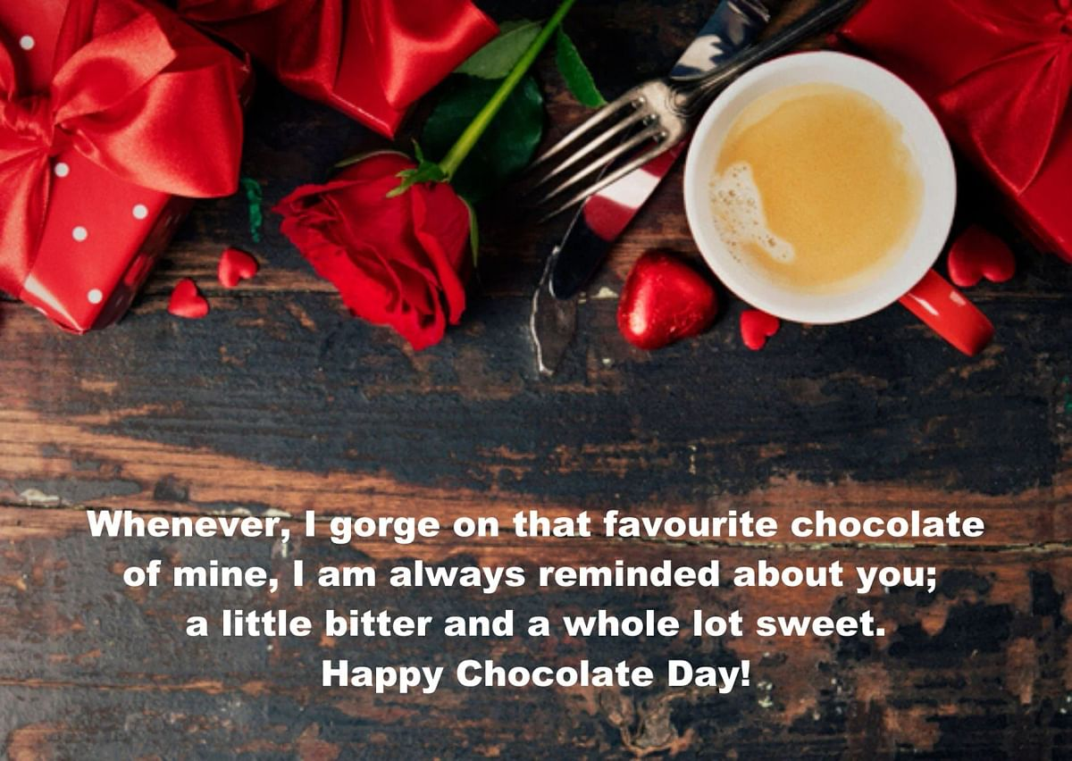 Chocolate Day Wishes in English