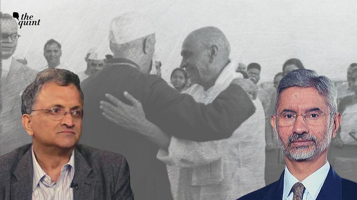 The topic was hotly debated between S Jaishankar and historian Ramachandra Guha on Twitter.