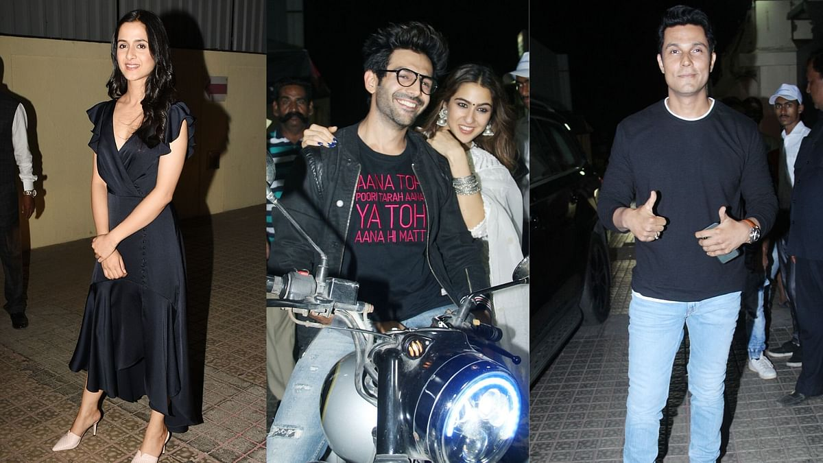 In Pics: Kartik, Sara, Randeep, Arushi at 'Love Aaj Kal' Screening