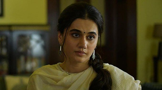 Taapsee in a still from <i>Thappad</i>